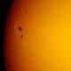 Sunspots AR2573-AR2576,                                Alexander Sorokin