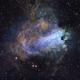 M17 Omega Nebula,                    CoFF