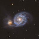 M51 - The Whirlpool Galaxy,                                Andrew Klinger