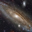 DEEP SKY WEST M31 LRGB,                                jerryyyyy