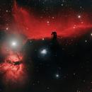 Horsehead & Flame Nebula,                                John Travis
