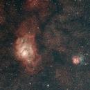 Lagoon and Trifid nebula (M8 M20),                                freddom38