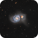 M51 Whirlpool Galaxy HALRGB,                                Ezequiel