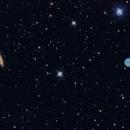 Galaxy M108 and M97 (The Owl Nebula),                                Joanot