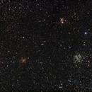 NGC 663, NGC 654, IC 166,                                Nikolay Iliev