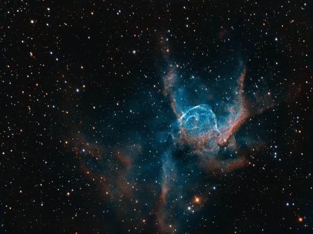 NGC 2359 - Thors Helmet,                                George Varouhakis