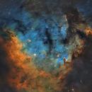 NGC 7822 - 26 hours of SHO,                                raguramm