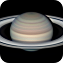 Saturn with two small spots in the NTB,                                Chappel Astro