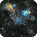 Space Bacteria? NGC1968 and friends,                                robonrome
