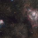 Trifid & Lagoon Nebula,                                Anas Albounni