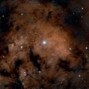 NGC 7822, HOO,                                  Stephen Garretson