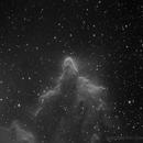 IC 63 and IC 59, gamma Cas nebula, H-alpha,                                Eric Coles (coles44)