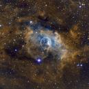 The Bubble Nebula in SHO Hubble Palette,                                Josh Woodward