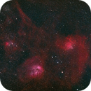 Flaming Star Nebula - IC 405 and lots of company,                                Derek Dailey