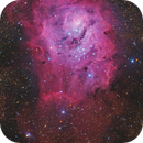 Lagoon Nebula Messier ( joint work),                                Maicon Germiniani