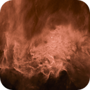 Flaming Star (IC405), starless in duotone,                                Jonathan Young