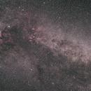 Cygnus Wide Field(2 frames mosaic),                                Hideki