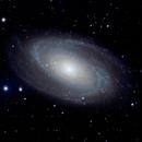 Messier 81, NGC 3031 - Bode's Nebula,                                Kuan Yu Ja