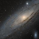 M31 - Andromeda Galaxy,                                Falk Schiel