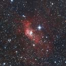 NGC 7635 Bubble Nebula - Caldwell 11 & Mesier 52 & 1405 Cas,                                Bert Moyaers