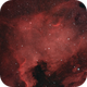 North America Nebula NGC 7000,                                pilotlc