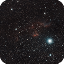 IC 59 & IC 63 The Ghost of Cassiopeia,                                star-watcher.ch