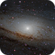 """Into the Andromeda Galaxy - """"Do not go gentle into that good night"""",                                Maarten Rolefes"""