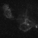 Heart and Soul Nebula,                                Tim Duke