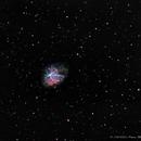 M1,  Crab Nebula,                                pemag