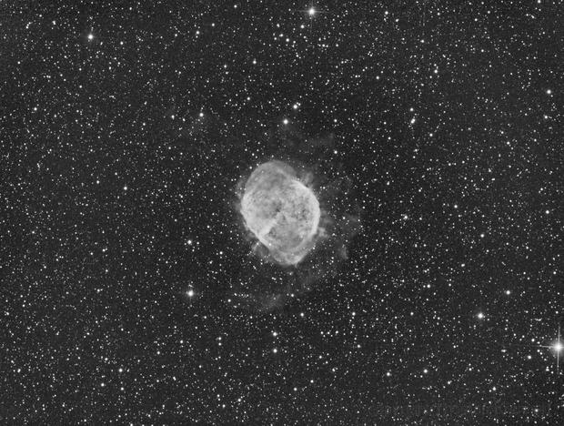 M27-Ha-Test / CCD Firstlight,                                Thomas Kremser