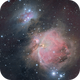 Orion Nebula - Messier 42,                                Csere Mihaly