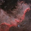 Cygnus Wall in NGC7000,                                Riccardo Balia