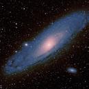M31 Andromeda Galaxy,                                Camarone