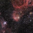 NGC 3293-3324,                                Paul Storey