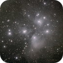Plejaden M45 + Kleinplanet Tatjana,                                Horst Twele