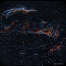 NGC6992 in HOO with RGB stars,                                rayp
