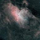 Eagle Nebula (M16) in narrowband,                                  Frank Kane