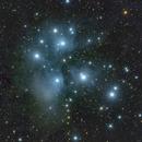M45 color image,                                  Niels V. Christensen