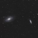 M81 M82 - galaxy couple in Ursa Major,                                Arne Krack