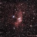 NGC7635 - The Bubble Nebula,                                Prath Pavaskar