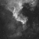 The wall in NGC 7000,                                Erwin Kats