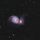 Messier 51 en LHaRVB,                                Georges