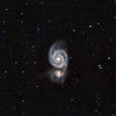 M51 - Whirlpool Galaxy, LHaRGB (AT10IN),                                Sam Sabbagh