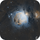 M42 The Great Orion Nebula in Hubble Palette Narrow band,                                Mark Forteath