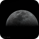 Moon with 348 mm focal length and ASI224 cooled,                                xb39