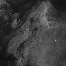 Pelican Nebula in Ha,                                Goofi