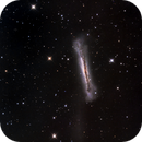 Hamburger Galaxy (NGC3628) in CLS-RGB,                    Jose Carballada