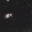 M51 Whirlpool-Galaxie,                                  Dominik Magath