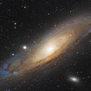 M31 Andromeda Galaxy,                                Frank Chen