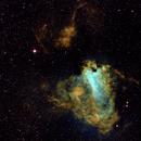Omega Nebula M17,                                Wissam Ayoub
